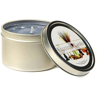 1 Pc Tin Candles Clean Linen Scented Tins 4 oz 2.5 in. diameter x 1.75 in. tall