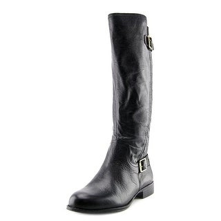 Naturalizer Jalyn Women W Round Toe Leather Mid Calf Boot