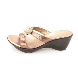 Callisto Adelai Women Open Toe Wedge Sandal