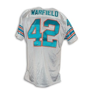 Paul Warfield Miami Dolphins Autographed Throwback Jersey Inscribed Perfect Season