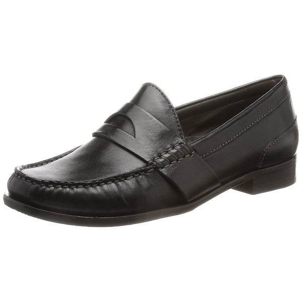 cole haan black loafers