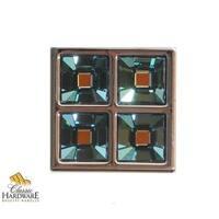 Bosetti Marella 101662 Inspirations 1 Inch Square Cabinet Knob