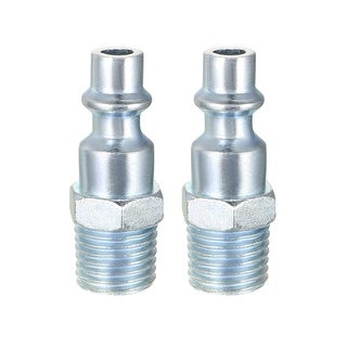 """Quick Coupler , Air Quick-Connect Fitting , 1/4-Inch NPT Male Thread , Pack of 5 - 1/4""""NPT Male Milton-type Quick Coupler"""