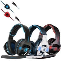 SA-903 7.1 Surround Sound USB Headband Pro Gaming Headset For PC Laptop