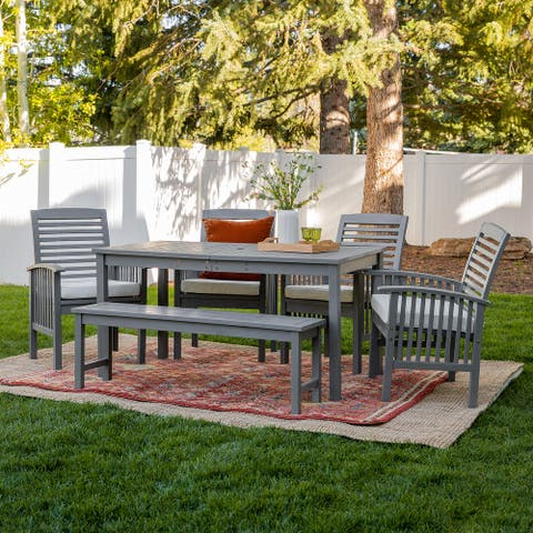 6-Piece Acacia Outdoor Dining Set by Havenside Home
