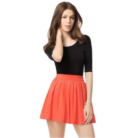 Aeropostale Womens Flippy Pleated Skirt