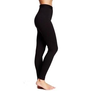 Vince Camuto Black Women's Size XS Elastic-Waist Legging Stretch Pants