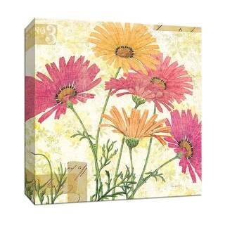 "PTM Images 9-153322  PTM Canvas Collection 12"" x 12"" - ""Reminiscence I"" Giclee Flowers Art Print on Canvas"