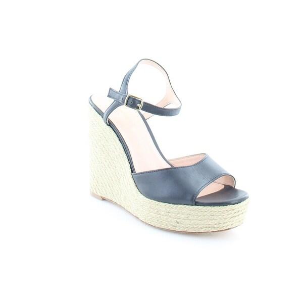 Kate Spade New York Dallie Women's Sandals Navy Vacchetta