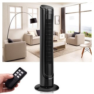 "40"" Tower Fan with Remote Control Oscillating Cooling Bladeless"