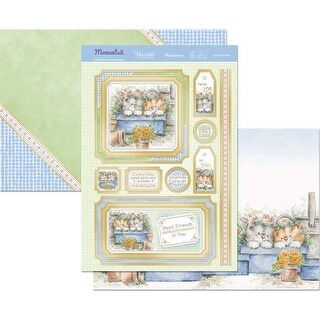 Special Friend - Hunkydory Moments & Milestones A4 Topper Set