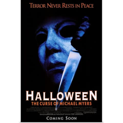 """Halloween 6 The Curse of Michael Myers (1995)"" Poster Print"