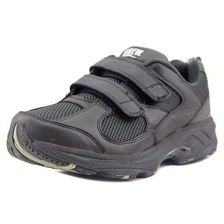 Drew Lightning Ii V Men W Round Toe Leather Black Sneakers
