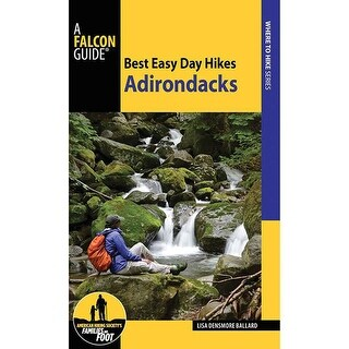 Falcon Best Easy Day Hikes: Adirondacks 2nd - 9781493024476