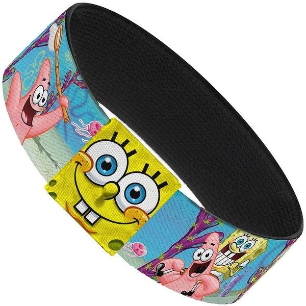 SpongeBob & Patrick Starfish Jellyfishing Scenes Elastic Bracelet
