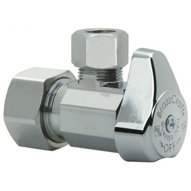 Brass Craft G2CR39X-CD Angle Valve, Chrome