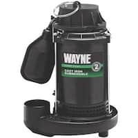 Wayne 1/2Hp Cast Sub Sump Pump