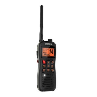 Uniden MHS235 Submersible Floating VHF/GPS Handheld Marine Radio