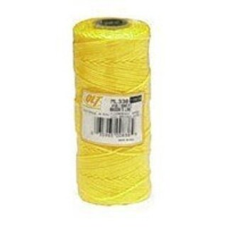 Marshalltown 624 Braided Nylon Mason's Line 500', Yellow