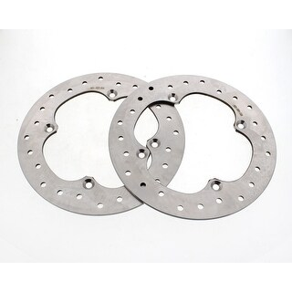 2017 Can-Am Maverick X3 Turbo Rear Stainless Steel Brake Rotor Discs Both Sides