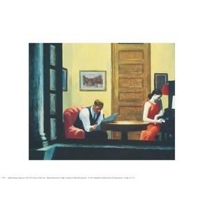 ''Room in New York'' by Edward Hopper Mini-Prints Art Print (11 x 14 in.)