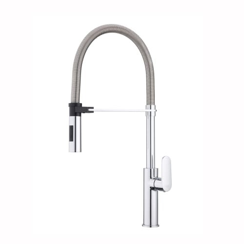 WS Bath Collections Candy CA 179 Candy Single Handle Pre Rinse Kitchen  Faucet With Swivel