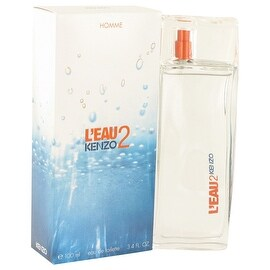 L'eau Par Kenzo 2 by Kenzo Eau De Toilette Spray 3.4 oz - Men