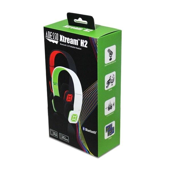 Adesso Inc. XtreamH2B Xtream H2B BT Headphones Black