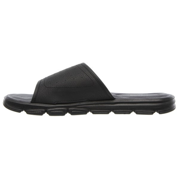 Shop Skechers 51314 BBK Men's WIND SWELL Sandal Overstock