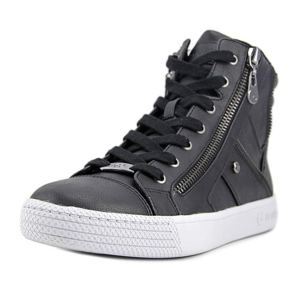 G By Guess Maker Round Toe Leather Sneakers