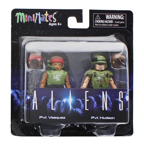 Aliens Minimates Series 2 2-Pack: Pvt. Vasquez & Pvt. Hudson - multi