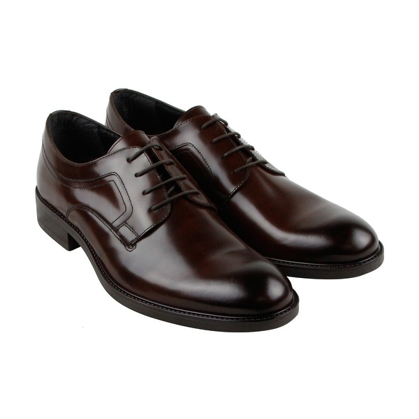 Kenneth Cole Reaction Design 201021 Mens Brown Casual Dress Oxfords Shoes