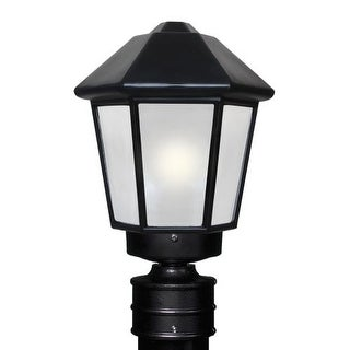Costaluz 3272-POST-FR 1 Light Incandescent Post Light with Frosted Glass Shade (2 options available)
