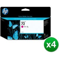 HP 72 130-ml Magenta DesignJet Ink Cartridge (C9372A) (4-Pack)