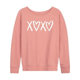 Link to X Heart X Heart  - Ladies French Terry Pullover Similar Items in Intimates