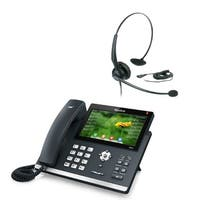 Yealink SIP-T48G with Headset Gigabit VoIp Phone with Headset