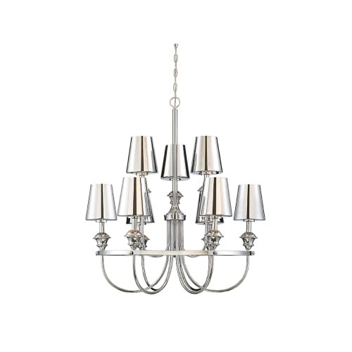 Savoy House 1 6502 9 Arden Light 32 4 Wide Chandelier With Unique Chrome Gl Free Shipping Today 27263353