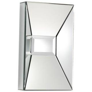 Cyan Design Pentallica Rectangle Mirror 25.5 x 15.75 Pentallica Rectangular Wood Frame Mirror