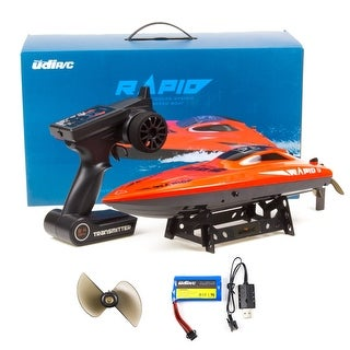 UDI009 RC Boat 2.4Ghz 30km/h High Speed Electronic Remote Control Racing Boat Red - N/A