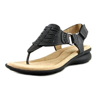 Naturalizer Juki Women Open Toe Leather Thong Sandal