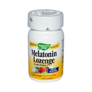 Natures Way Melatonin Lozenge Fruit - 2.5 mg - 100 Lozenges