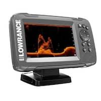 Lowrance 000-14016-001 HOOK2-5 5inchx DownScan Imaging GPS SplitShot Fishfinder