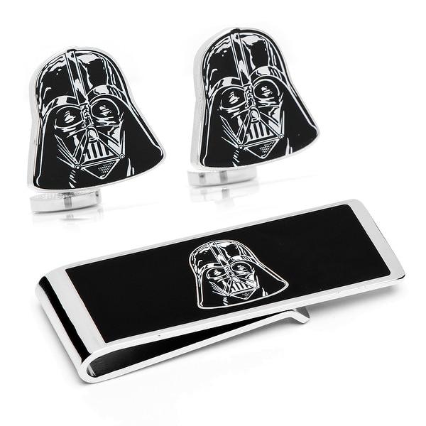Star Wars Darth Vader Cufflinks and Money Clip Gift Set