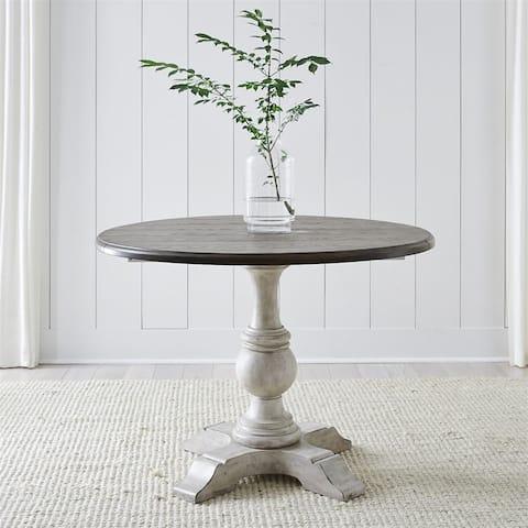 Cottage Lane Antique White Drop Leaf Table