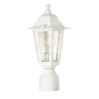 Nuvo Lighting 60/994 Single Light Up Lighting Outdoor Post Light from the Cornerstone Collection
