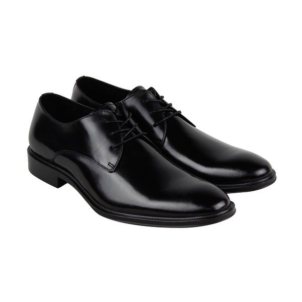 Kenneth Cole New York Tully Oxford B Mens Black Casual Dress Oxfords Shoes