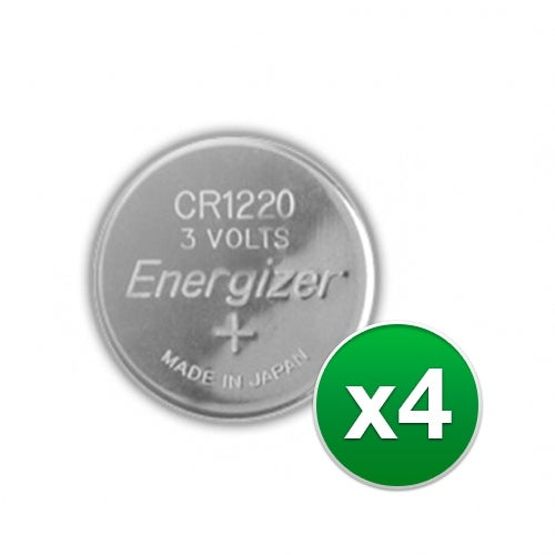 """""""Replacement Battery for Energizer CR1220VP 2Pack (4-Pack) Replacement Battery"""""""