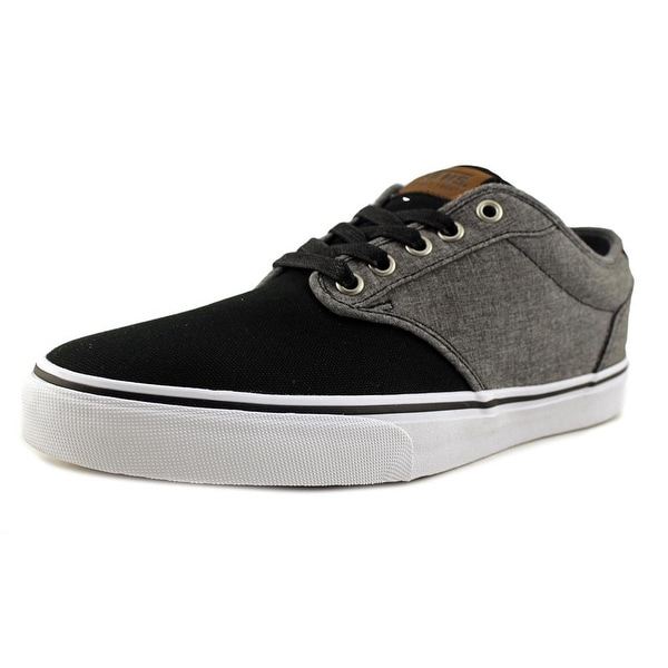 b9c629ed4e559a Shop Vans Atwood Deluxe Round Toe Canvas Sneakers - Ships To Canada ...
