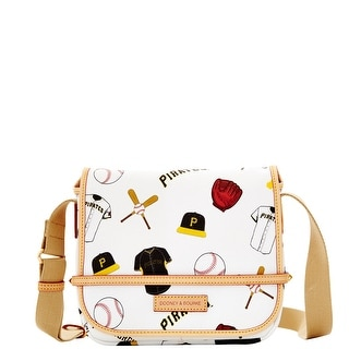 Dooney & Bourke MLB Pirates Small Messenger (Introduced by Dooney & Bourke at $218 in Oct 2014) - White