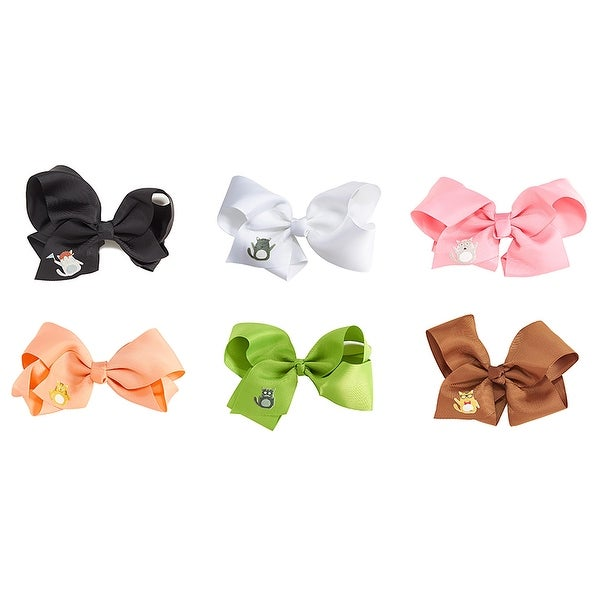 Feline Frenzy Cat Bow, Set of 6